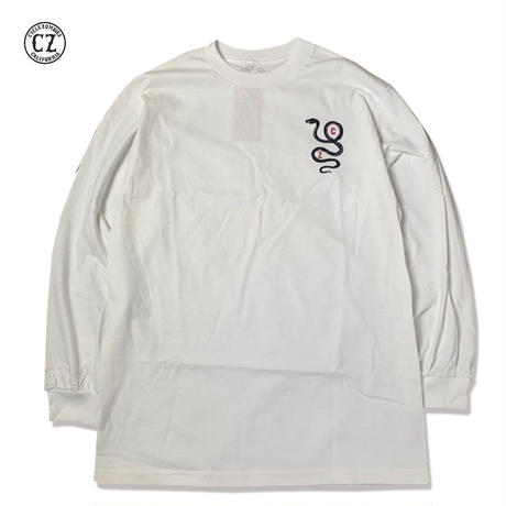 Cycle Zombies(サイクルゾンビーズ) COIL Standard L/S T-Shirt White