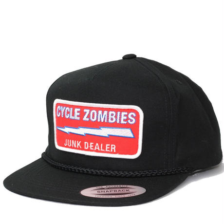 Cycle Zombies(サイクルゾンビーズ)JUNK DEALER Premium Poplin Golf Black