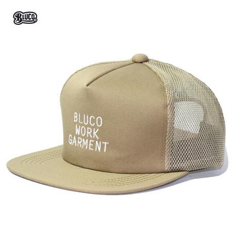 BLUCO(ブルコ) OL-215-021 MESH CAP-mini logo- 全5色(ブラック・ブラウン・グレー・カーキ・ネイビー)