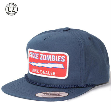 Cycle Zombies(サイクルゾンビーズ)JUNK DEALER Premium Poplin Golf Navy