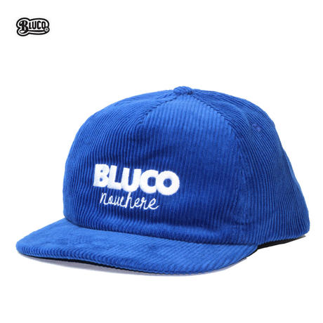 BLUCO(ブルコ) OL-602-021 CORDUROY CAP -nowhere- 5色(ブラック・ブルー・キャメル・ネイビー・オリーブ)