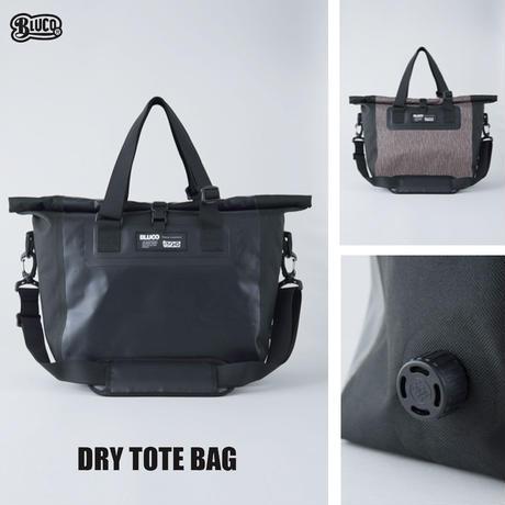 BLUCO(ブルコ) OL-502-021 DRY TOTE BACK 2色(ブラック・Rカモ)