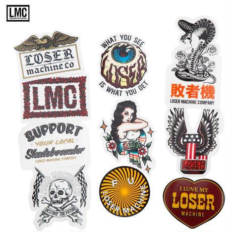 Loser Machine(ルーザーマシーン) Loser Mc Stickers VI