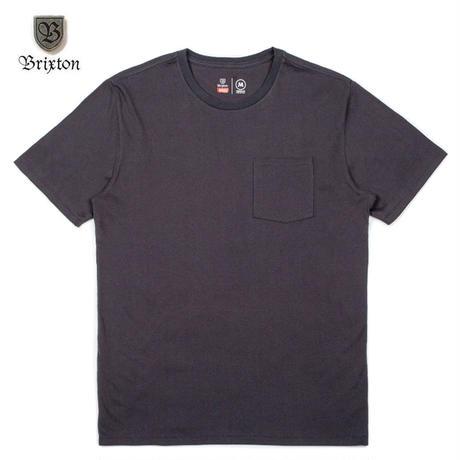 BRIXTON(ブリクストン) BASIC S/S PKT TEE ブラック
