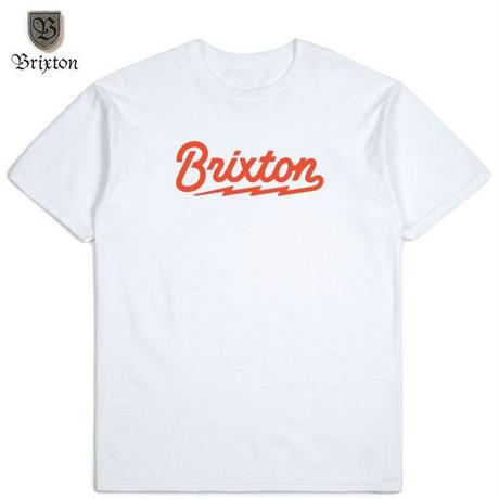 BRIXTON(ブリクストン) DORY S/S STND TEE ホワイト