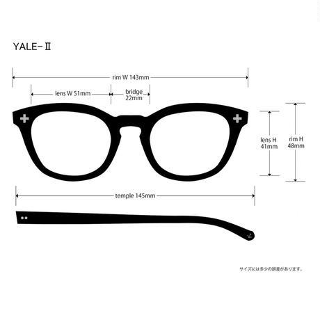 EVILACT(イーブルアクト) YALE II 01 ブラックフレームx調光レンズ