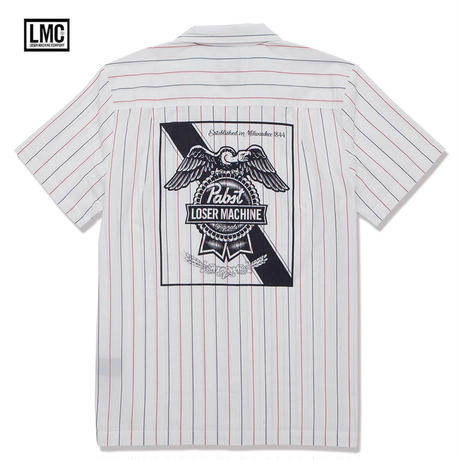 Loser Machine(ルーザーマシーン) LMCxPABST RIBBON SHIRTS
