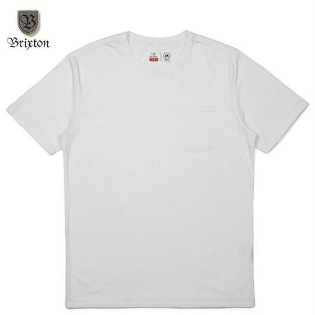 BRIXTON(ブリクストン) BASIC S/S PKT TEE ホワイト