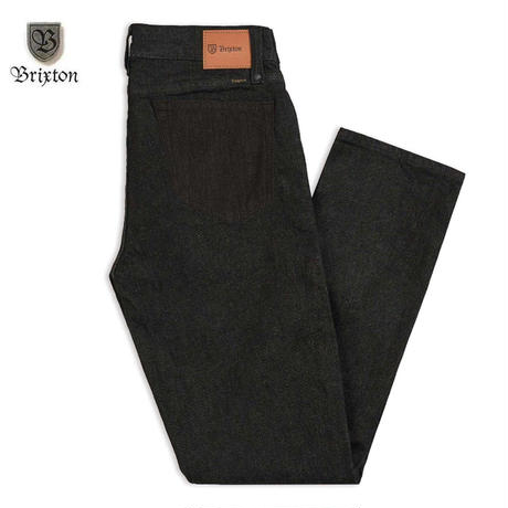BRIXTON(ブリクストン) Reserve 5-Pocket Denim Pant - Black