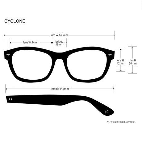 EVILACT(イーブルアクト) CYCLONE 01 ブラックフレームx調光レンズ