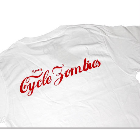 Cycle Zombies(サイクルゾンビーズ)ENJOY Standard S/S T-Shirt ホワイト
