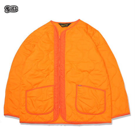 BLUCO(ブルコ) 071-021 LINER JACKET 3色(ブラック・カーキ・オレンジ)
