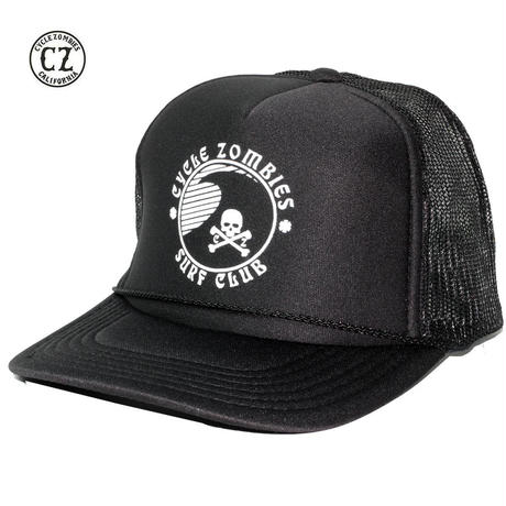 Cycle Zombies(サイクルゾンビーズ) TOXIC Standard Trucker Hat Black