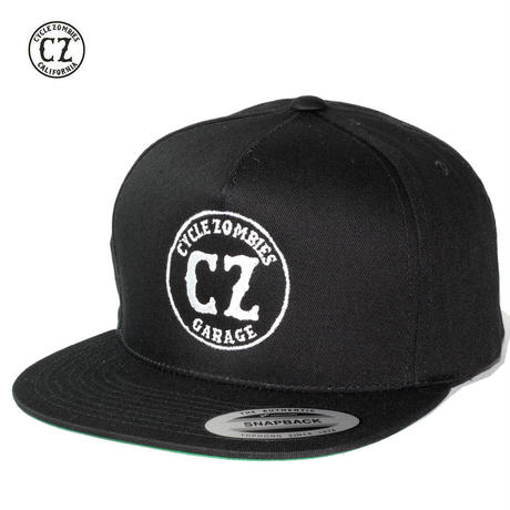Cycle Zombies(サイクルゾンビーズ)GARAGE Premium Twill Snapback Hat Black