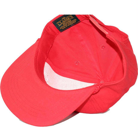 Cycle Zombies(サイクルゾンビーズ)ENJOY Premium Poplin Golf Snapback Red