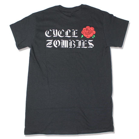 Cycle Zombies(サイクルゾンビーズ)ROSEBUD Standard S/S T-Shirt Black