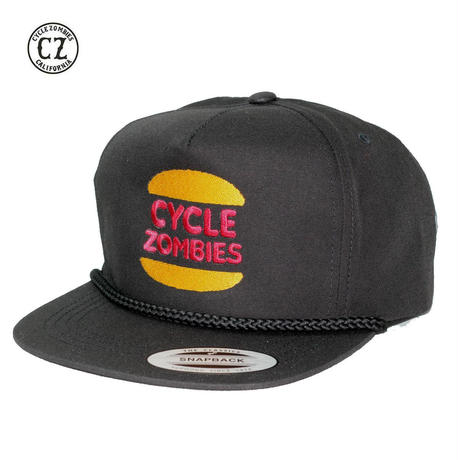 Cycle Zombies(サイクルゾンビーズ)BURGER SNAPBACK ブラック