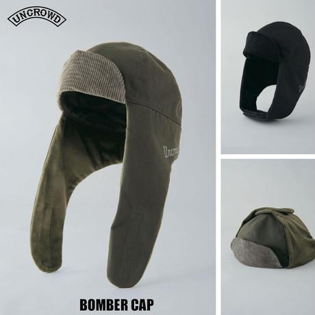 UNCROWD(アンクラウド) UC-301-021 ORIGINAL BOMBER CAP 2色(ブラック・オリーブ)