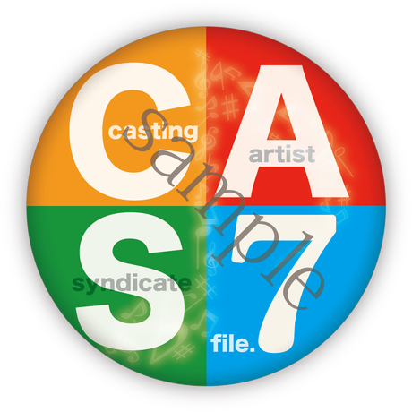 Casting Artist Syndicate:CAS file.7【缶バッジ付】