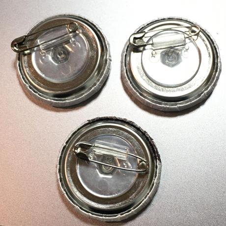 あすか +みるん +  yumeko:缶バッジ:A《2/7@キャスラボ》【3個セット】