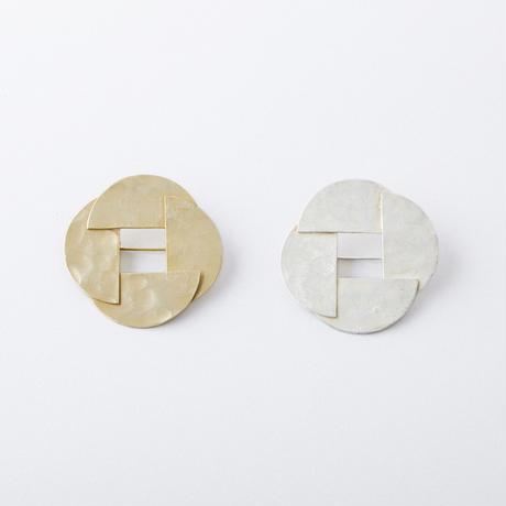 YSZ012:ハーフサークルブローチ  /  Half circle Brooch