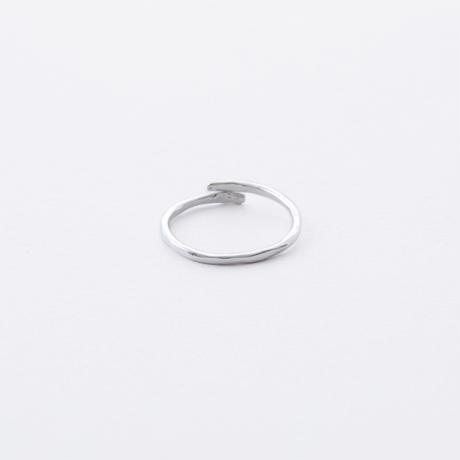 ISR803:WAVEラインリング S(シルバー)/  WAVE LINE Ring  S(SV925)