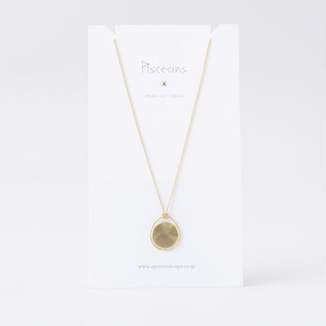 ISN104 : サークルフレームネックレス / Circle&Flame Necklace