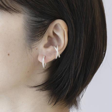 ISE036 :ウェーブクロスイヤカフ /  Wave cross  Ear cuff