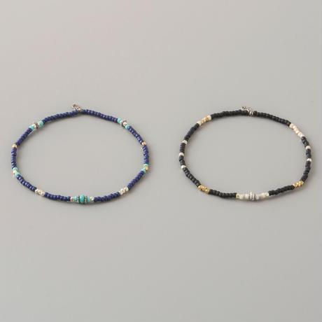 マットビーズアンクレット / Matte Beads Anklet