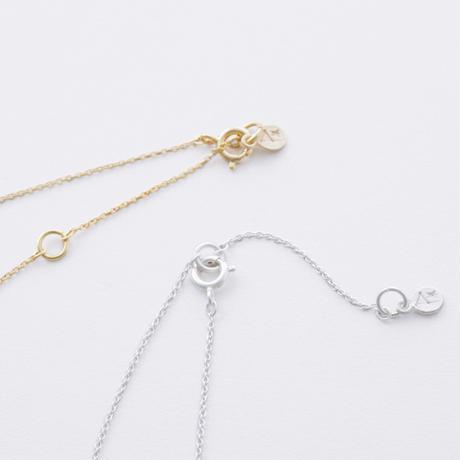 ISN103 : セミリングネックレス / Semi-ring Necklace