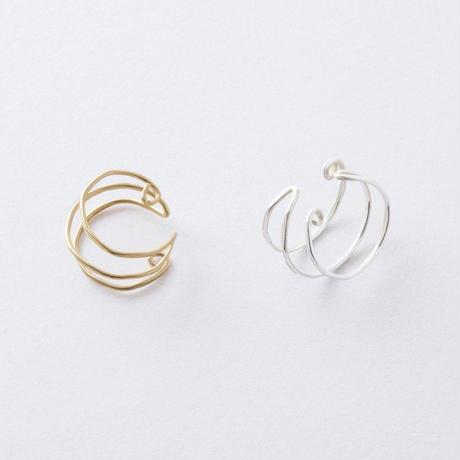 KAE013 :トリプルラインイヤカフ / Triple line ear cuff