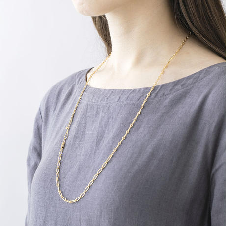 KAN026:MIXチェーンネックレス / MIX Chain Necklace