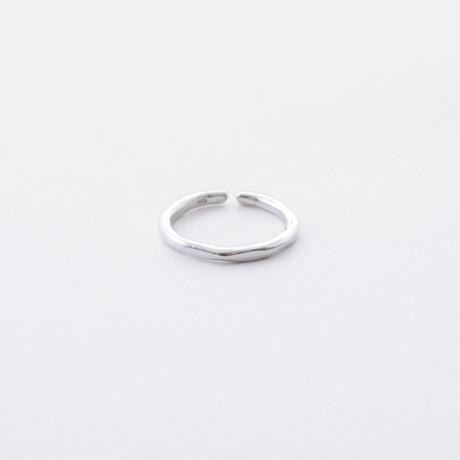ISR804:WAVEラインリング L(シルバー)/  WAVE LINE Ring  L(SV925)