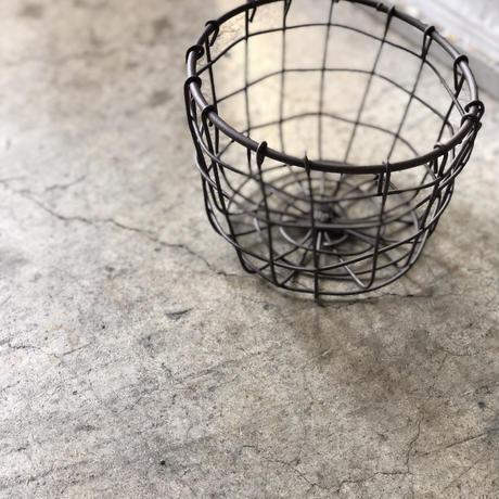 母の日アレンジメント アイアンバスケット