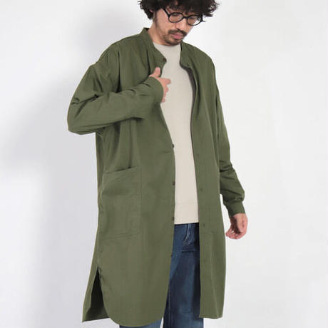 SPELLBOUND   バットタイポプリンオーバーシャツ