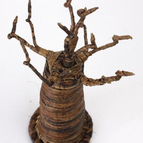 バナナ皮 バオバブの木 オブジェ