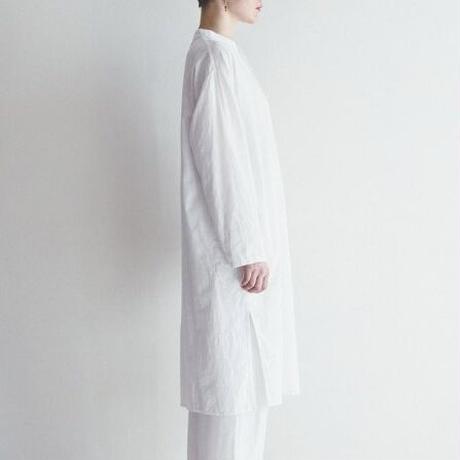 fog カディコットンアミタロングシャツ
