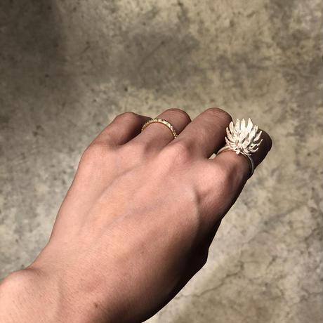 Nakamura Nazuki  shirotsumekusa ring silver