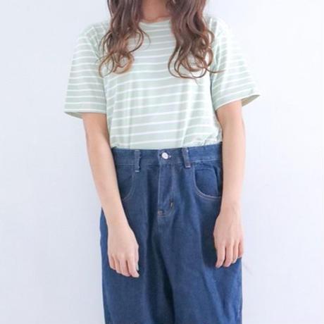 半袖ボーダーTシャツ