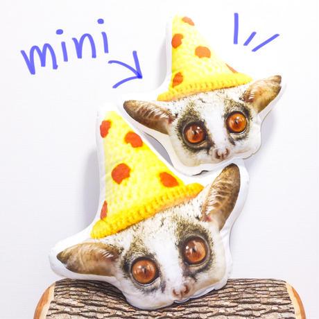 Pizzatoru Face Pillow mini/ ピザトル顔ミニクッション [小]