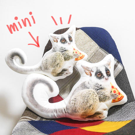 Pizzatoru Pillow mini/ ピザトル全身ミニクッション [小]