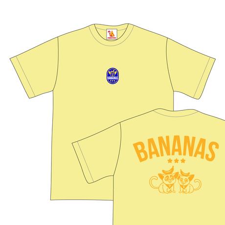 BANANAS  T-Shirts / バナナーズTシャツ [Yellow]