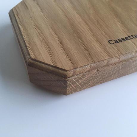 カッティング/サービングボード 18 x 18 cm  オーク