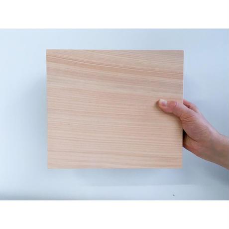 東濃ひのきのまな板 24 x 21 cm