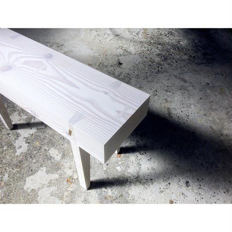 ベンチ Plank ホワイト