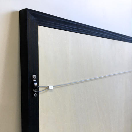 ミラー 壁掛け L 90 x 60 cm