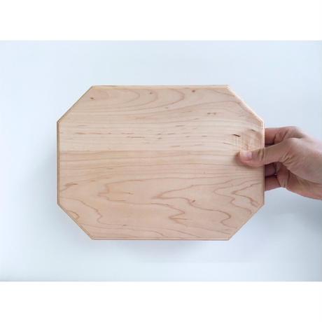 カッティング/サービングボード 25 x 18.5 cm  メープル