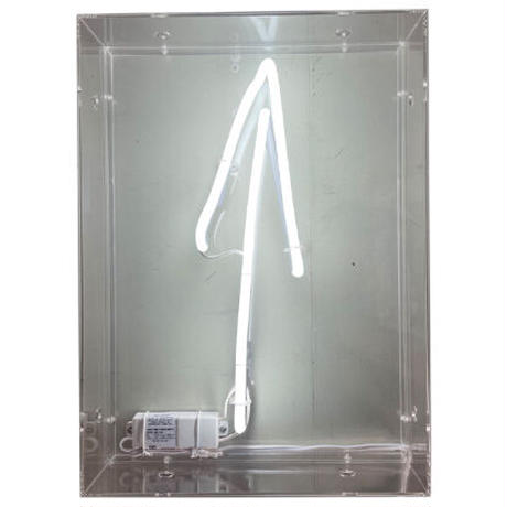 NEON ACRYLICBOX (WHITE)