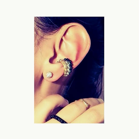 -Dot earcuff-silver リニューアル