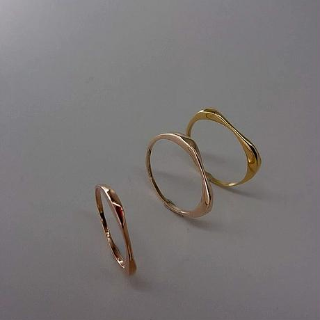 minamo thin ring-k10-
